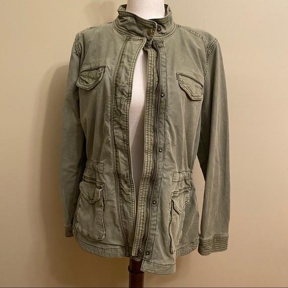 Lucky Brand Jackets & Blazers - Lucky Brand Olive Military Jacket